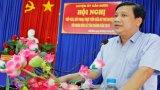 Bí thư Huyện ủy Cần Đước đối thoại nhân dân xã Tân Chánh