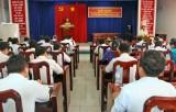 Đảng ủy khối Cơ quan và Doanh nghiệp tỉnh Long An: Tiếp tục nâng cao chất lượng công tác kiểm tra, giám sát