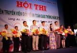 Đội Châu Thành xuất sắc đoạt giải nhất Hội thi Tuyên truyền viên ATGT giỏi năm 2019
