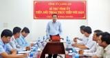 Nêu cao trách nhiệm người đứng đầu cấp ủy trong việc tiếp và đối thoại với công dân