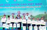 Vinamilk chung tay bảo vệ môi trường Thủ đô qua Quỹ 1 triệu cây xanh