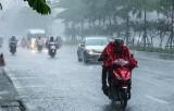 Bắc Bộ và Thanh Hóa đến Quảng Bình bắt đầu đợt mưa lớn kéo dài 2 ngày