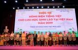 Thi hùng biện tiếng Việt: Sân chơi bổ ích cho các du học sinh Lào