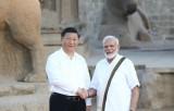 Lãnh đạo Ấn Độ-Trung Quốc thảo luận 150 phút tại hội nghị thượng đỉnh