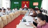 HĐND huyện Thủ Thừa tổ chức phiên chất vấn và trả lời chất vấn