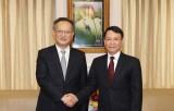 Thông tấn xã Việt Nam và Tân Hoa xã tăng cường hợp tác