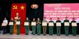 Long An: Tổng kết xây dựng điểm Bộ Chỉ huy Quân sự tỉnh vững mạnh toàn diện