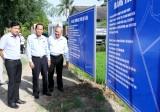 Phó Chủ tịch HĐND tỉnh Long An – Nguyễn Thanh Cang giám sát hoạt động cụm công nghiệp tại Cần Đước