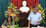 Kiểm tra việc thực hiện 'Năm Dân vận chính quyền' tại huyện Thạnh Hóa