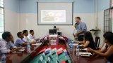 Đoàn công tác PEPFAR, Trung tâm Dự phòng và Kiểm soát bệnh tật Hoa kỳ tại Việt Nam làm việc tại Bến Lức