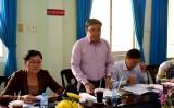 Ban Dân vận Tỉnh ủy Long An kiểm tra công tác dân vận tại Thanh tra tỉnh