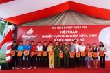 Hội thao kỹ thuật nghiệp vụ phòng cháy chữa cháy tại Khu công nghiệp Thuận Đạo mở rộng