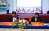 Tòa án nhân dân Long An và Tòa án Sơ thẩm Svay Rieng tăng cường hợp tác