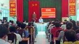 Chủ tịch UBND huyện Cần Giuộc đối thoại nhân dân xã Long Hậu