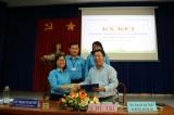 Liên đoàn Lao động và Sở Lao động - Thương binh và Xã hội Long An ký kết chương trình phối hợp công tác giai đoạn 2019-2023