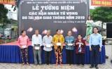 Cần Giuộc tổ chức Lễ tưởng niệm nạn nhân tử vong do tai nạn giao thông năm 2019