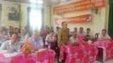 Đại biểu HĐND tỉnh tiếp xúc cử tri xã Bình Hòa Hưng