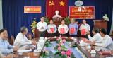 Huyện ủy Cần Đước công bố quyết định thành lập tổ chức Đảng khối cơ quan huyện và công tác cán bộ