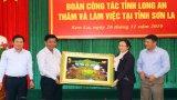 Đoàn công tác tỉnh Long An làm việc tại tỉnh Sơn La