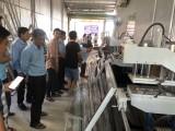 Long An: Tiếp tục hỗ trợ doanh nghiệp thay đổi thiết bị trong dây chuyền sản xuất cửa nhựa và cửa nhôm