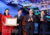 Thủ tướng dự kỷ niệm 90 năm Ngày truyền thống công nhân Cảng Hải Phòng