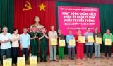 Tổng cục Chính trị tặng quà gia đình chính sách, Mẹ Việt Nam Anh hùng tại Long An