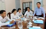 Đoàn Khối kiểm tra hoạt động năm 2019 tại Chi đoàn cơ sở Tòa án Nhân dân tỉnh