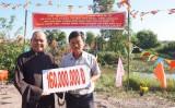 Chùa Long Vân tài trợ xây dựng cầu giao thông nông thôn
