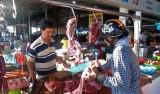 Giá thịt heo tiếp tục tăng cao