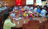Bến Lức: Hội thảo về sản xuất và tiêu thụ chanh không hạt