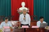 Ủy ban Khoa học, Công nghệ và Môi trường Quốc hội làm việc tại Thủ Thừa