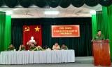 Công an TP.Tân An đối thoại với nhân dân về giải quyết thủ tục hành chính