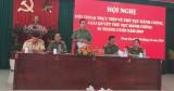 Công an tỉnh Long An đối thoại với công dân về giải quyết thủ tục hành chính