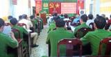 Công an huyện Cần Giuộc đối thoại về giải quyết thủ tục hành chính