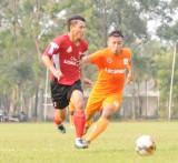 Câu lạc bộ Long An đại thắng trong trận thi đấu giao hữu