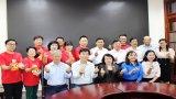 Thanh, thiếu niên tình nguyện tỉnh Chungcheongnam (Hàn Quốc) giao lưu văn hóa, văn nghệ tại Long An