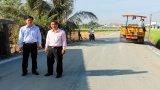 Cần Đước: Kiểm tra công trình xây dựng cơ bản đón xuân