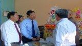 Phó Chủ tịch UBND tỉnh - Phạm Tấn Hòa thăm, chúc Tết tại chùa Thiên Khánh