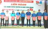 Nhóm tuyên truyền ca khúc cách mạng huyện Tân Hưng đoạt giải nhất