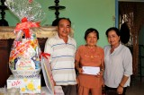 Hội Nhà báo tỉnh Long An thăm, chúc tết thân nhân gia đình nhà báo liệt sĩ