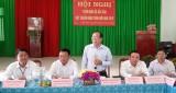 Thẩm định xã Bắc Hòa đạt chuẩn nông thôn mới