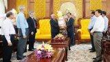 Tổng Liên hội Tin lành Việt Nam (miền Nam) chúc tết Tỉnh ủy Long An