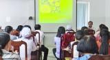 Tân Trụ: Tập huấn phòng, chống dịch virus Corona cho nhân viên y tế