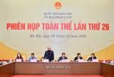 Phiên họp thứ 26 của Ủy ban Pháp luật của Quốc hội