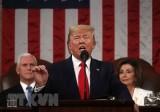 Tổng thống Trump nêu bật thành tích kinh tế trong thông điệp liên bang