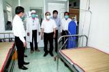 Kiểm tra công tác phòng dịch virus Corona tại Cần Đước