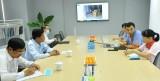 Chủ tịch UBND tỉnh Long An - Trần Văn Cần kiểm tra công tác phòng, chống dịch bệnh nCoV tại Khu công nghiệp Thuận Đạo