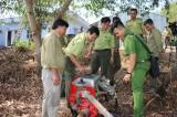 Tân Hưng chủ động phòng cháy, chữa cháy mùa khô