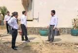 Phó Chủ tịch UBND tỉnh Long An – Phạm Tấn Hòa kiểm tra tiến độ thành lập khu cách ly và bệnh viện dã chiến