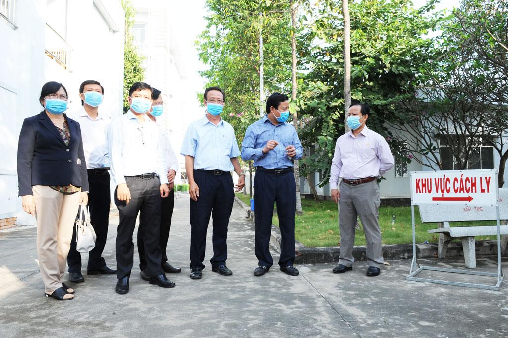 Các cơ sở y tế chuẩn bị sẵn các khu vực cách ly để phòng, chống dịch bệnh Covid-19
